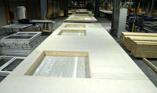 производство панелей