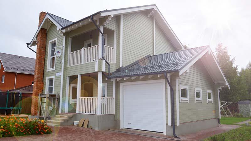 Готовый комплект дома с завода